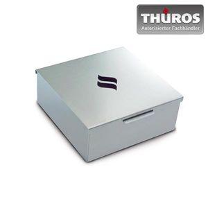 THÜROS Räucherbox / Smoking Mini Box 15x15cm Edelstahl