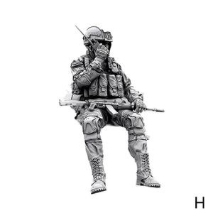 1/35 harz Figur Kits Russische Special Forces Soldat Modell Selbst-montiert