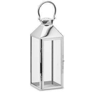Gartenfreude Laterne Edelstahl Lampe