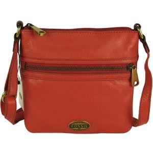 FOSSIL Handtasche EXPLORER MINI BAG Schultertasche Umhängetasche Bright Orange