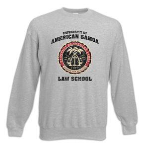Urban Backwoods University of American Samoa Sweatshirt Pullover, Größe:M