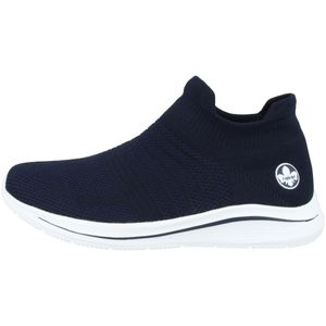 Rieker Damen Sneaker Blau, Schuhgröße:EUR 40