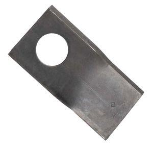 Klinge für Kreiselmäher   links   94 x 48 x 3 mm   passend zu Mörtl   Vergleichsnr.: T673-L