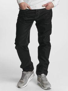 Cipo & Baxx Männer Straight Fit Jeans Zachary in schwarz Cipo & Baxx