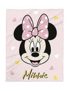 Disney Babydecke Minnie Mouse 75x100  Micro Flausch