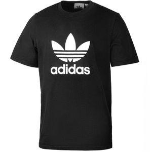 adidas Trefoil Herren T-Shirt Schwarz, Größe:XL