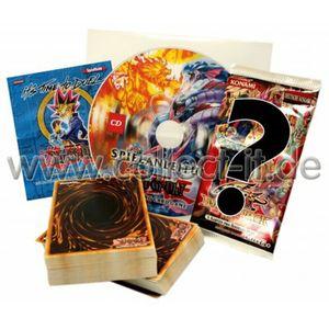 Yu-Gi-Oh! - Starterpack Nr.1 - 100 gemischte Karten + Booster + Spielanleitung + Spielfeld