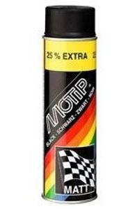 Motip Rallye Farbspray Schwarz Matt Spraydose Aerosoldose 500ml