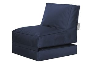 Twist SCUBA, Sitzsack und Liege,  Jeansblau