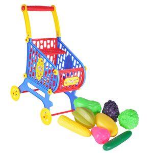 Kinder Einkaufswagen mit  warenkorb