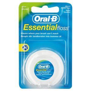 Oral-B Essential floss Zahnseide gewachst (50 M)