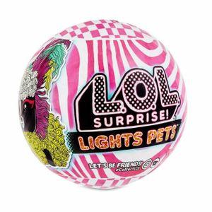 L.O.L. Surprise! Lights Pets with Real Hair & 9 Surprises Including Black Light