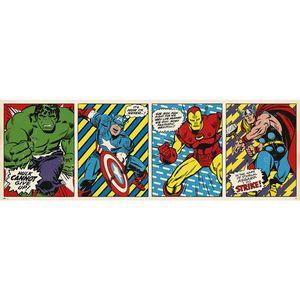 Marvel Comics Langbahnposter Retro 53 x 158 cm