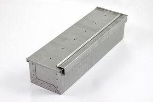 Toastbrotform aluminiert 24x11x8cm zum Backen von Toast