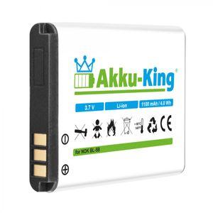 Akku kompatibel mit Olympia BL-40, BL-OS4, BL-VA, LN-4C - Li-Ion 1000mAh - für Becco Plus, 2130, 2203