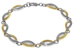Boccia 03001-02 Bicolor Titan Damen-Armband