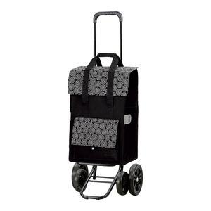 Andersen Shopper Quattro mit 4 Rädern und 50 Liter Tasche Vara schwarz