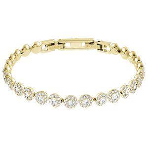 Swarovski Armband 5505469 Angelic, weiss, Vergoldet