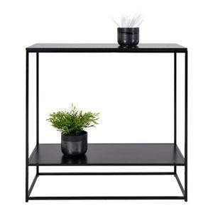 Viggo Konsolentisch Ablage schwarz Tisch Schminktisch Konsole Schreibtisch PC