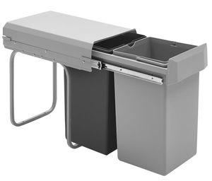 Wesco Doubleboy Semiprofi 2x15 Liter Abfallsammler für Drehtürenschränke ab 30er