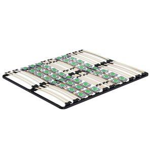 i-flair Lattenrost 180x200 cm Lattenrahmen Tellerlattenrost ERGO IF55 - für alle Matratzen geeignet - alle Größen