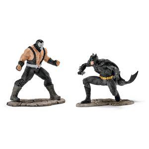 Schleich - Tierfiguren, BATMAN vs. BANE; 22540