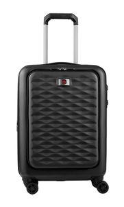 WENGER Lumen Expandable Hardside Luggage 20'' Dual Access Black