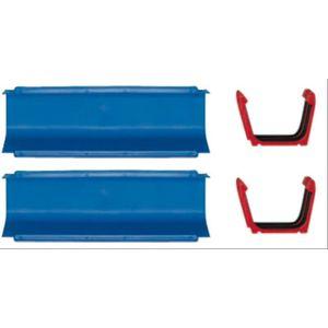 Aquaplay 101 2 Gerade und 2 Kopplungen Wasserbahn