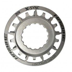 Antriebsritzel f.BOSCH Xduro 20z 2014,rostfreier Stahl,silber,Gen2