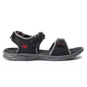New Balance Sandalen sportliche Herren Trekkingsandalen Schwarz Schuhe, Größe:46 1/2