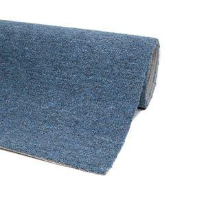 Teppichboden Auslegware Blau 200 x 350 cm Meterware Bodenbelag Teppich