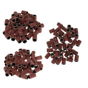 150 Stück Nail Art Nagelfräser Ersatz Schleifband, Schleifhülsen - Fine Grit / Medium Grit / Coarse Grit per 50 Stück