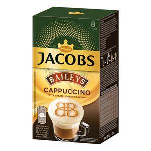 Jacobs Cappuccino Baileys, Instant Kaffee, Getränkepulver zum Aufgießen, 8 Portionen à 13,5 g