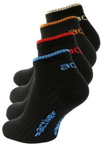 """Vincent Creation® Sneaker Socken """"active"""" 8 Paar 43-46 schwarz"""