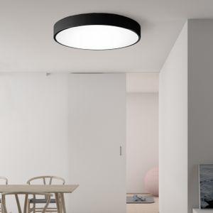 """Avior Home 50cm 36W LED Deckenleuchte """"Pestell"""" Tageslicht Schwarz"""