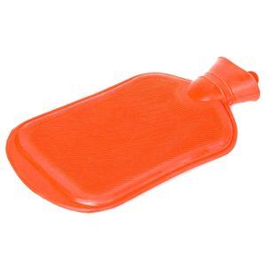 Snoozy Qualitäts Wärmflasche XXL mit 2 Liter Volumen aus 100% Naturkautschuk