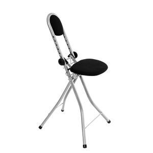 Bügelstuhl Stehhilfe rückenschonend - Multisitz 7-fach höhenverstellbar 55 - 72 cm - Bügelstehhilfe