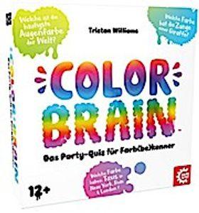 GAMEFACTORY 646234 Color Brain - Das Party-Quiz für Farb(Be)Kenner!