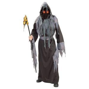 Herren Zombie Mumie Halloween Karneval Kostüm Grösse L 52 Grim Reaper Geist Phantom Umhang
