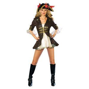Seeräuber Piratenbraut Kostüm, Größe:S