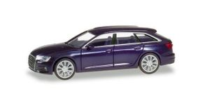 Herpa 430647-002 Audi A6 Avant dunkelblau Maßstab 1:87