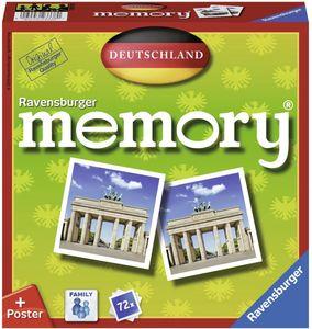 CYE Ravensburger 26630 - Deutschland Memory, der Spieleklassiker quer durch Deutschland, Deutschlandreise, Merkspiel fr 2-8 Spieler ab 4 Jahren