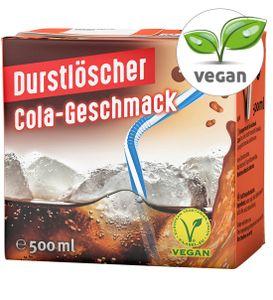 12x 500ml Durstlöscher Cola-Geschmack Fruchtsaftgetränk Tetra Pak