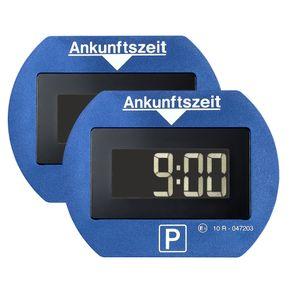 2x Needit PARK LITE 1411 Vollautomatische Parkscheibe - blau