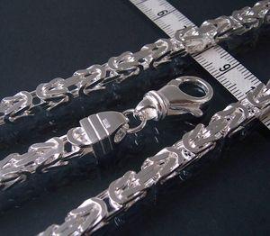 Niklarson Königskette 6mm Kette massiv Silber 60cm Schmuck 14060-60