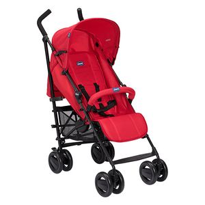 CHICCO London Up Cane Kinderwagen mit Red Passion Griff
