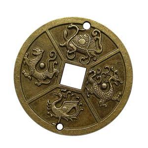 Chinesische Feng Shui Münzen Glück Münzen I-Ching Münzen für Gesundheit und Reichtum