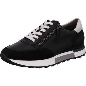 Paul Green 5069-009 Damen Sneaker, Black, Leder, NEU - Damenschuhe Sneaker, Schwarz, leder (s. suede/mastercalf)