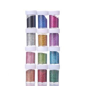 Glitzer - Standard - 32 ml je Farbe - 12 Farben