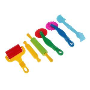 6 Stücke Knete Werkzeug Kinder Knetwerkzeug und Knetmasse Zubehör für Kinder Knete